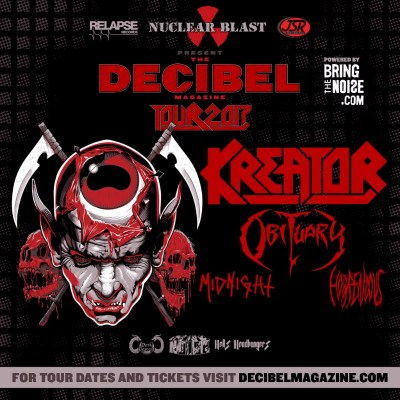 Obituary Decibel US tour