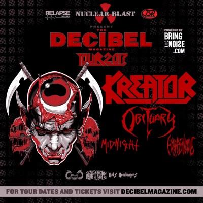 Obituary Decibel US tour