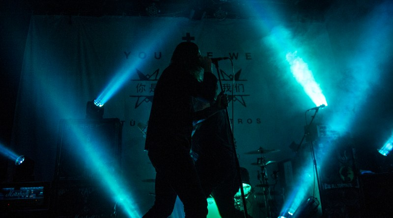 While She Sleeps live @ The Sugarmill, Stoke-on-Trent. Photo Credit: APL photographs