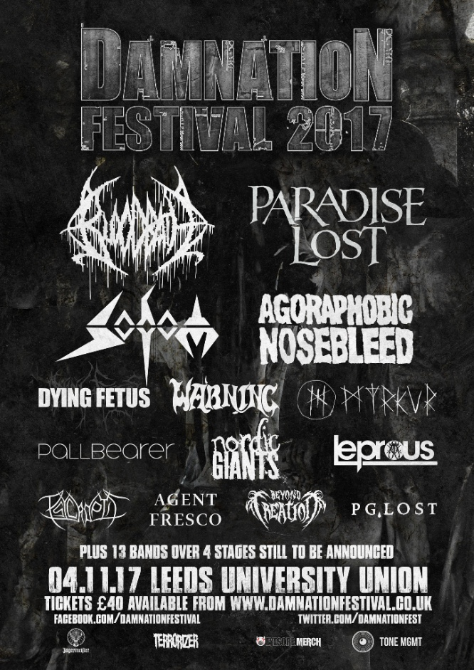 Damnation Festival 2017 - May
