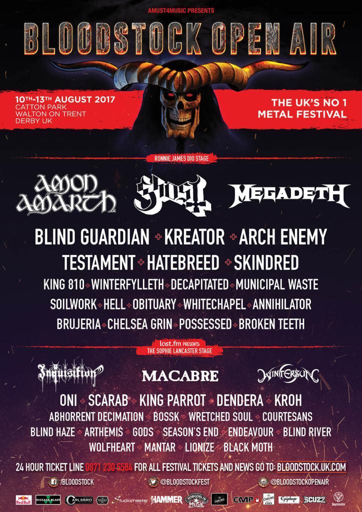 Bloodstock Festival 2017 - 2 May