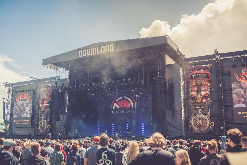 Northlane live @ Download Festival 2017. Photo Credit: Ross Silcocks
