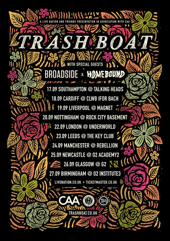 Trash Boat UK Tour 2017