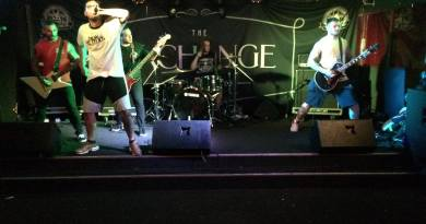Hardside live @ The Exchange, Stoke-on-Trent. Photo Credit: Eddie Sims