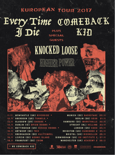 Every Time I Die EU/UK Tour