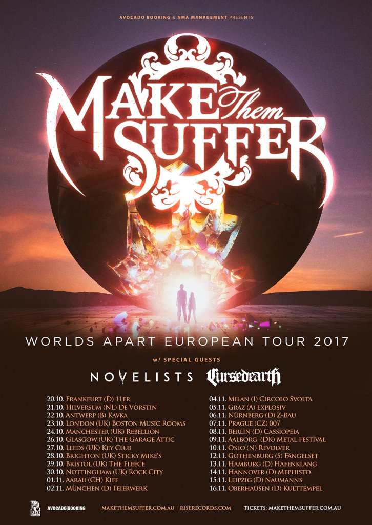 Make Them Suffer EU Tour