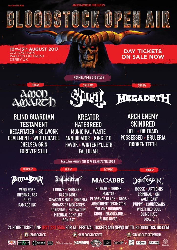 Bloodstock Festival 2017 - 4 July