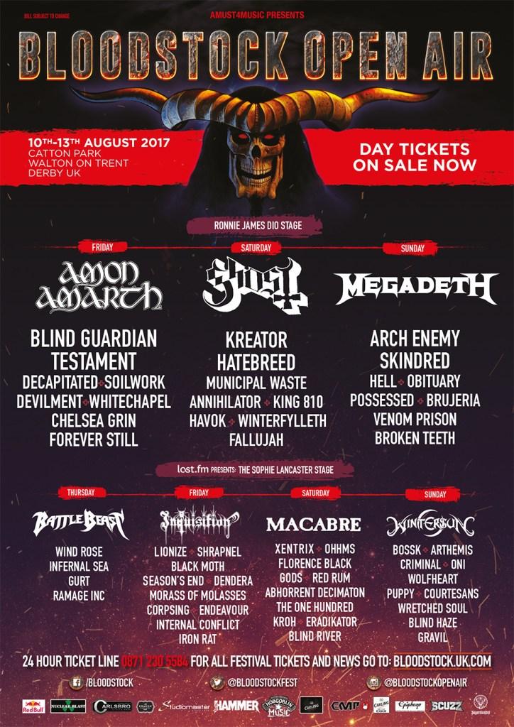 Bloodstock Festival 2017 - July 19