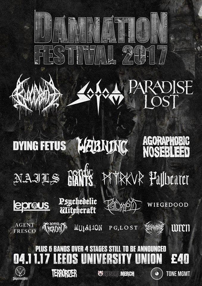 Damnation Festival 2017 - July