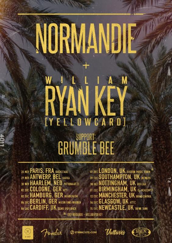 Normandie EU/UK tour 2017