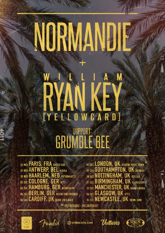 Normandie EU/UK tour 2017