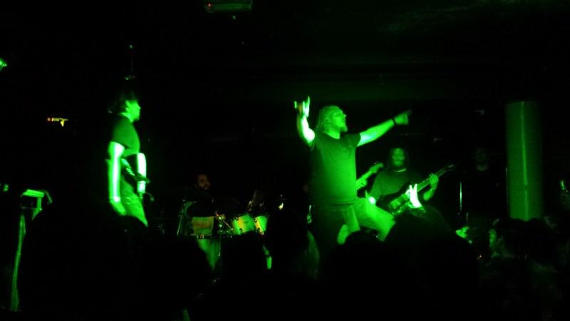 Abhorrent Decimation live @ The Underworld, London. Photo Credit: James Croft