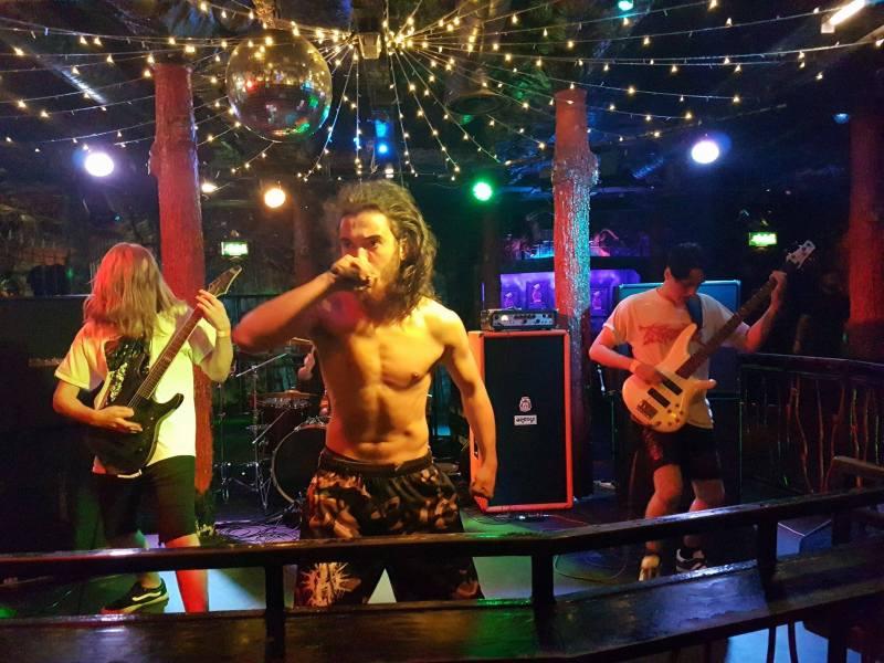 Visions of Disfigurement live @ Satan's Hollow, Manchester. Photo Credit: Jordan McEvoy