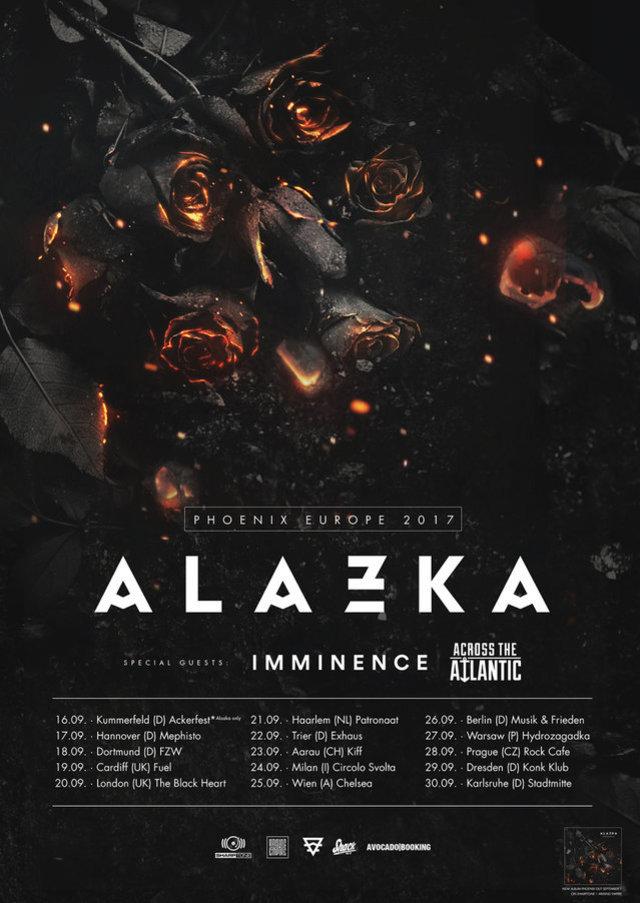Alazka European tour 2017