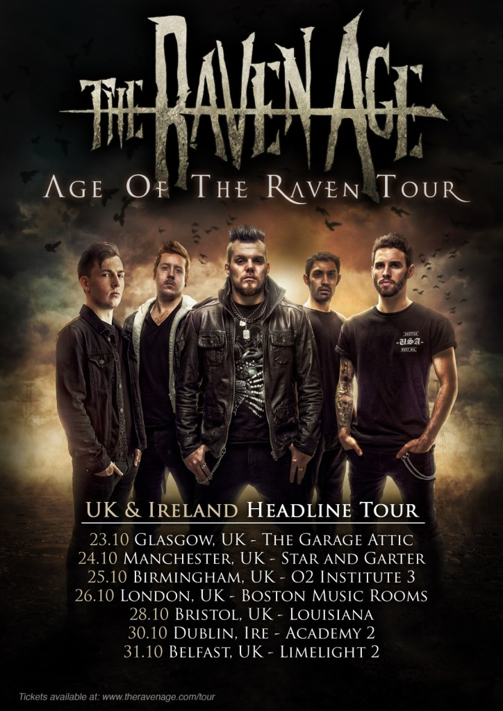 The Raven Age UK tour