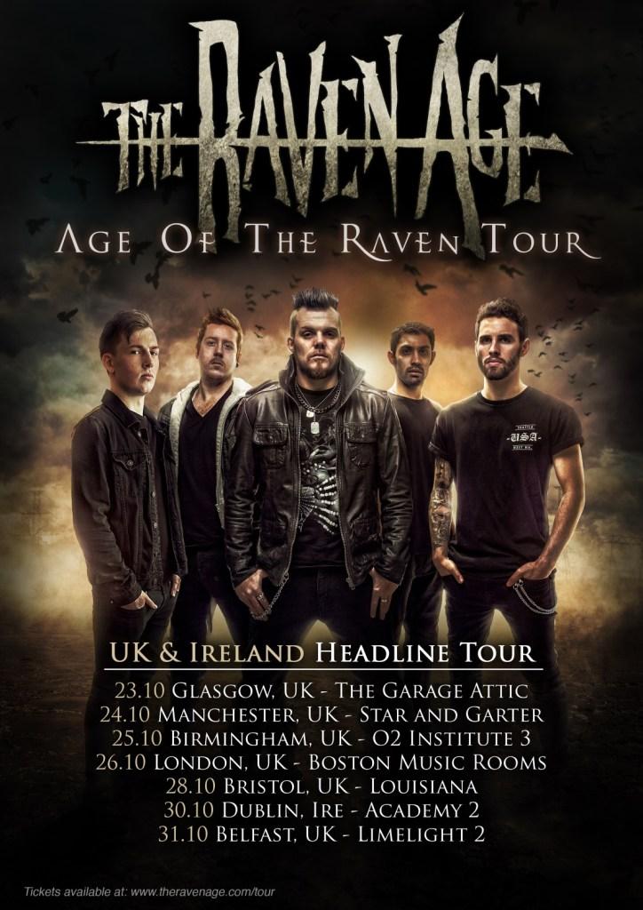 The Raven Age UK tour