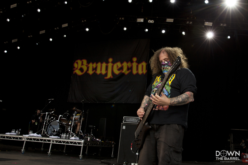 Brujeria live @ Bloodstock Festival 2017. Photo Credit: Down The Barrel Photography