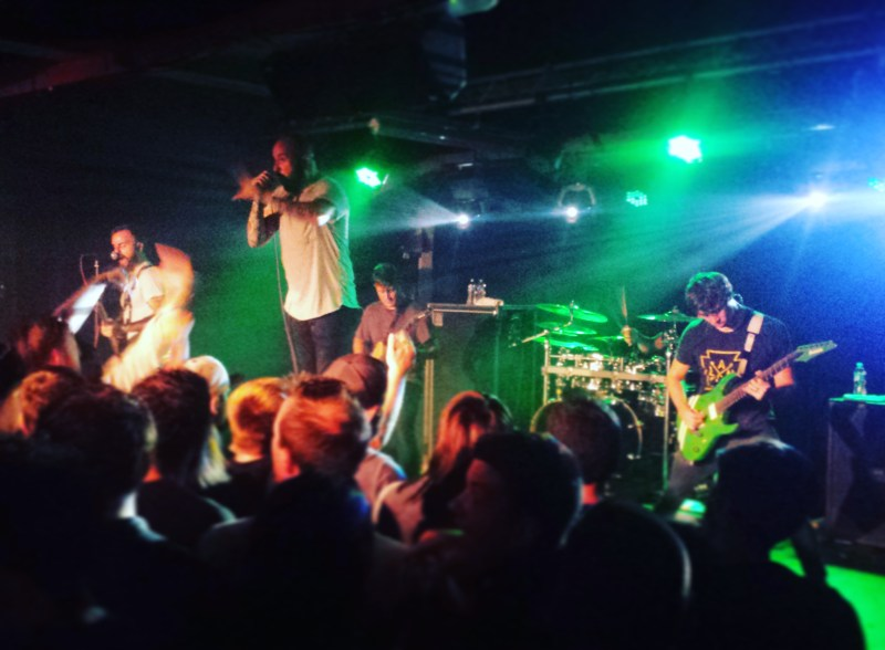 August Burns Red live @ Sound Control, Manchester. Photo Credit: James Croft