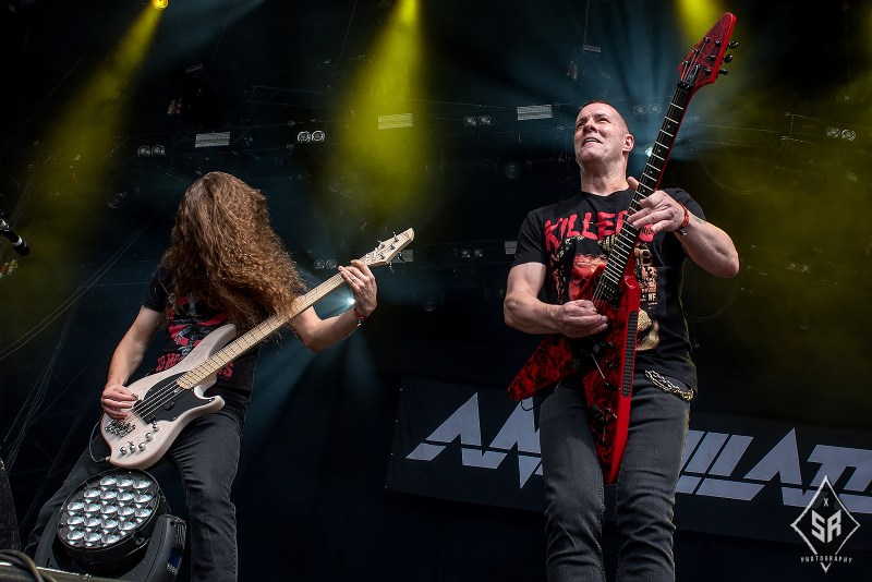Annihilator live @ Bloodstock Festival 2017. Photo Credit: Sabrina Ramdoyal Photography