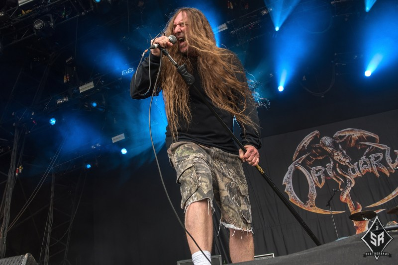 Obituary live @ Bloodstock Festival 2017. Photo Credit: Sabrina Ramdoyal Photography