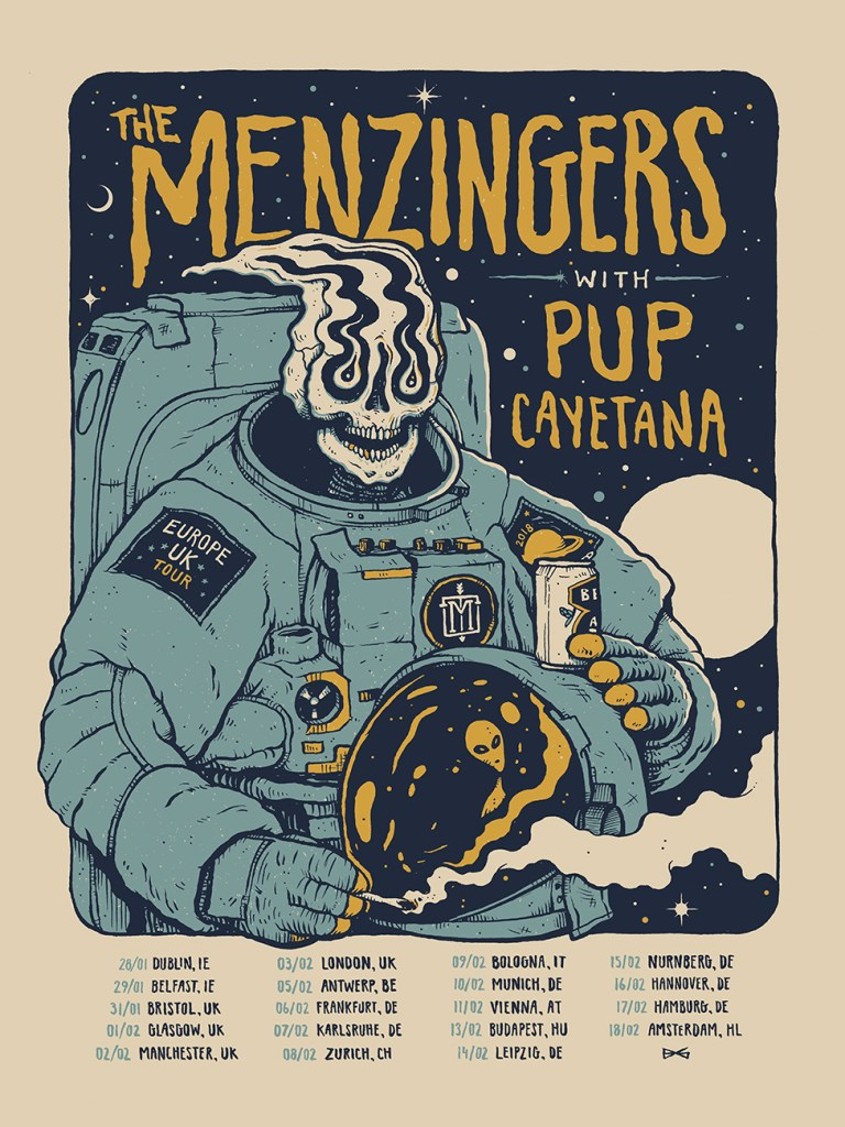 The Menzingers EU/UK Tour