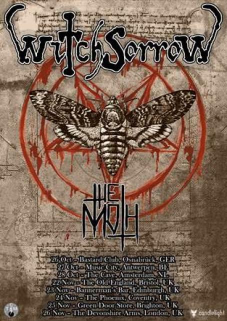 Witchsorrow UK Tour 2017
