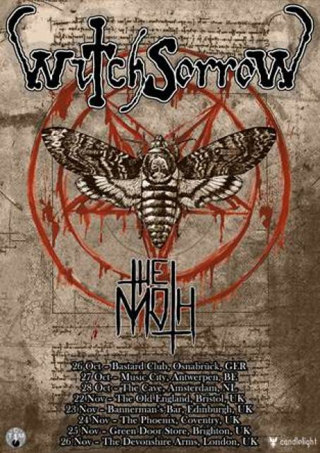 Witchsorrow UK Tour 2017
