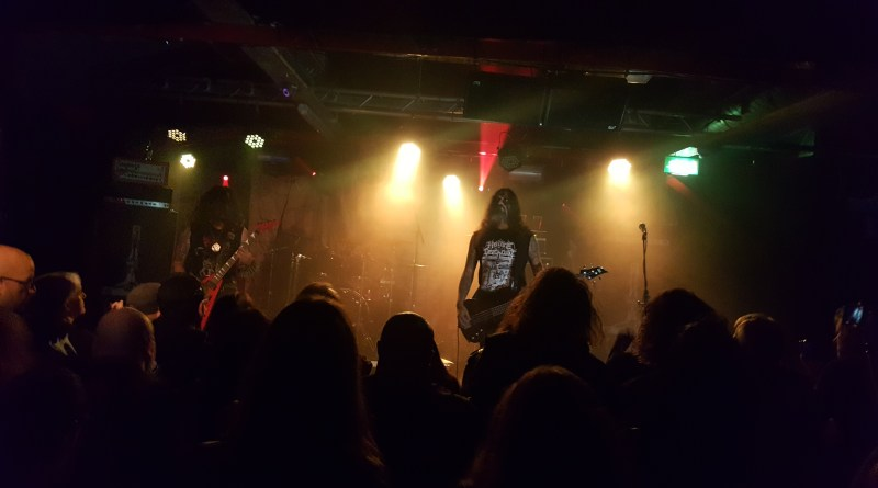 Archgoat live @ Sound Control, Manchester. Photo Credit: James Weaver