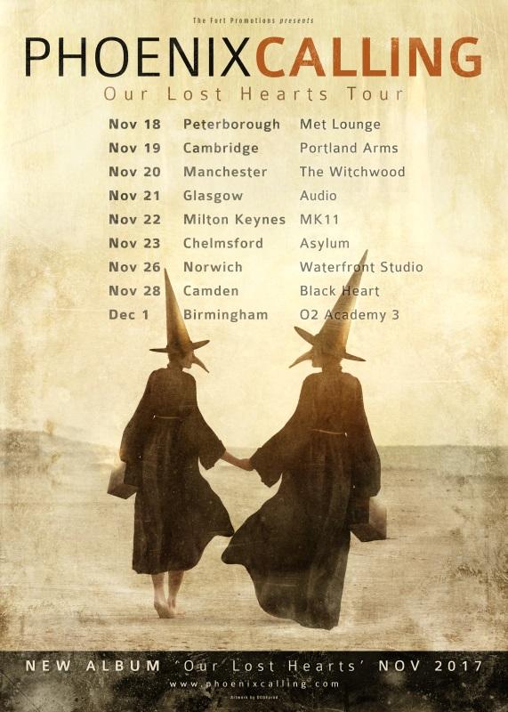 Phoenix Calling UK Tour 2017