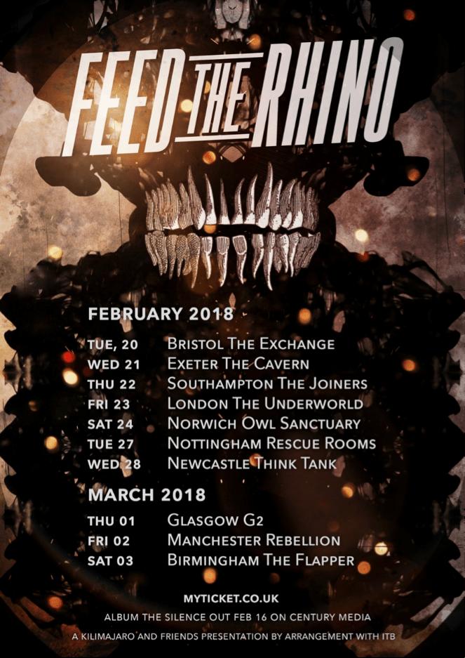 Feed The Rhino UK Tour 2018
