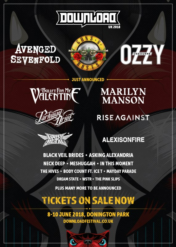 Download Festival 2018 - 28 November
