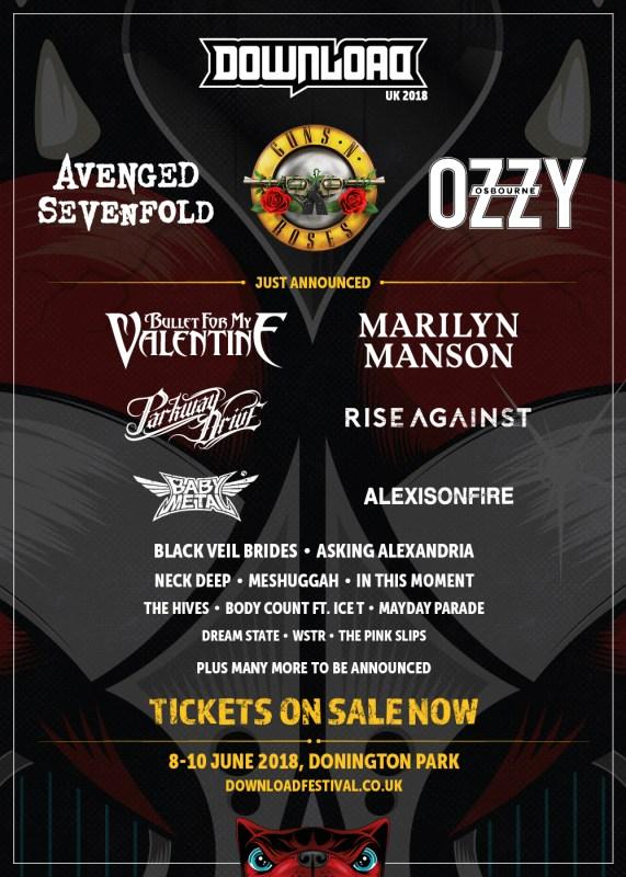 Download Festival 2018 - 28 November