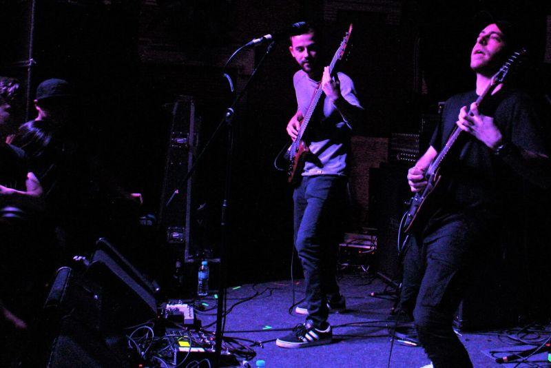 Intervals live @ Mama Roux's, Birmingham Photo Credit: Jamie Vann-Watson