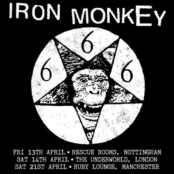 Iron Monkey UK Tour 2018
