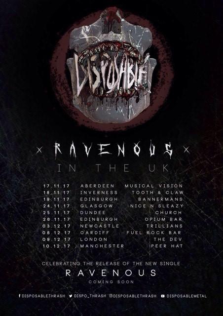 Ravenous Tour 2017