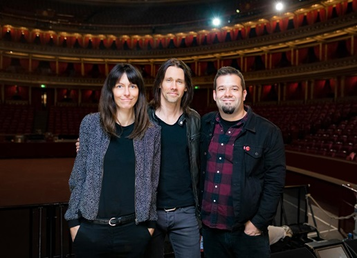 Billie Klein (Napalm Records), Myles Kennedy, Tim Tournier (manager)
