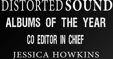 Distorted Sound Albums of the Year 2017 - Jessica Howkins