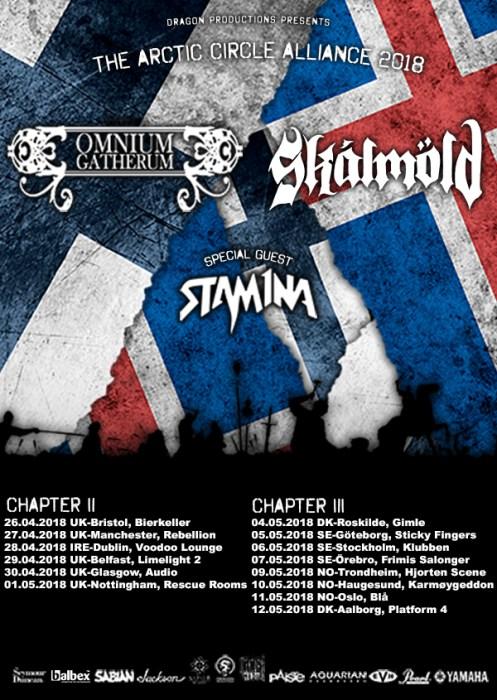 Omnium Gatherum European Tour 2018