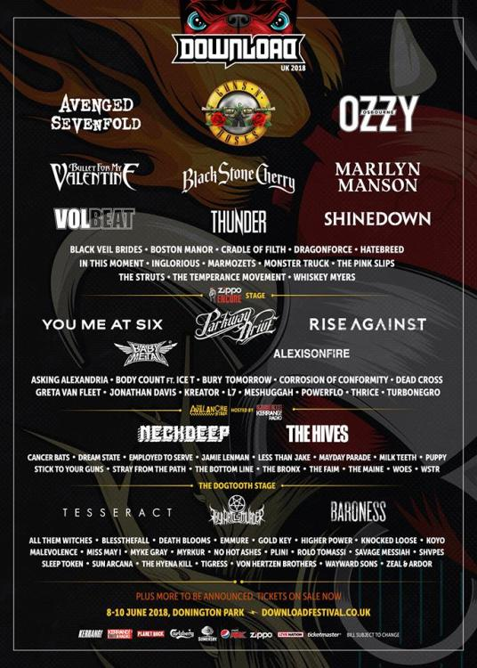 Download Festival 2018 - 23 Jan