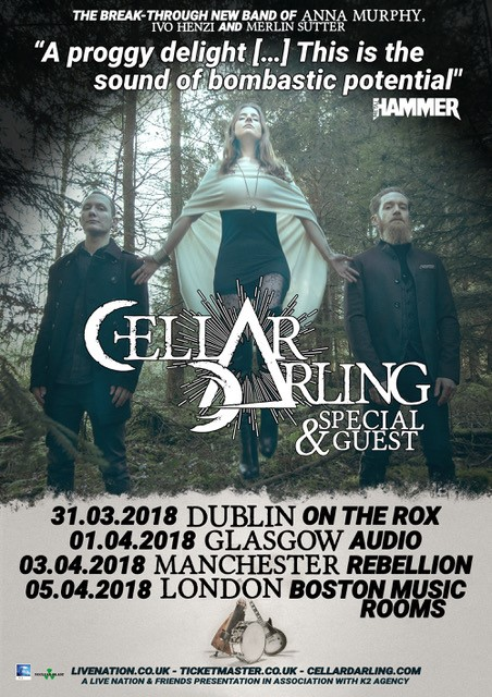 Cellar Darling UK Tour 2018