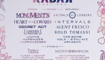 Festival Review Radar Festival 2019 Saturday Distorted Sound