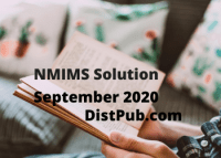 NMIMS Solution September 2020