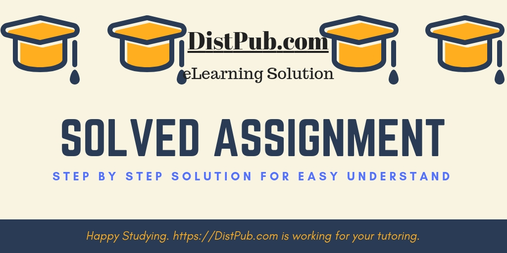 Annamalai Solved Assignments