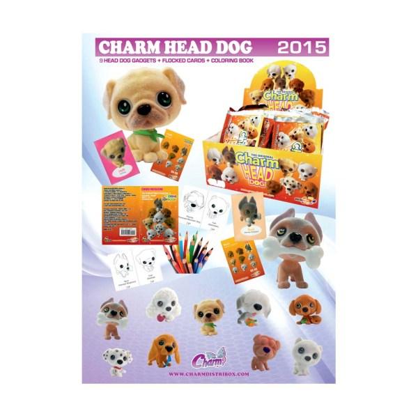 Póster Colección Charm Head Dog
