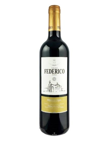 Botella de FEDERICO Roble 75 cl cosecha 2018
