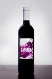 Botella de DOMINIO CARMEN Joven 75 cl cosecha 2020