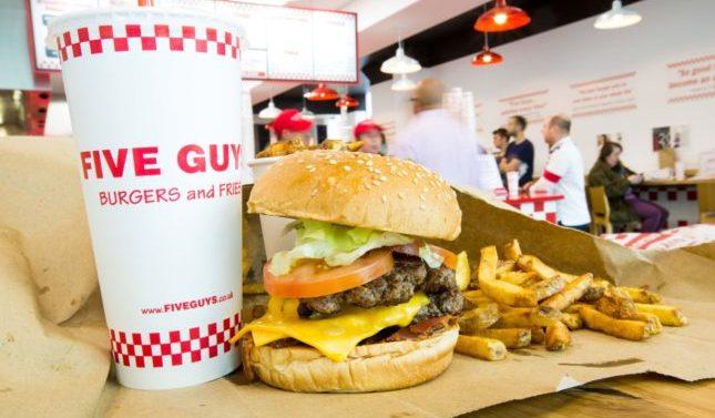 Five Guys abrirá su segundo restaurante en España