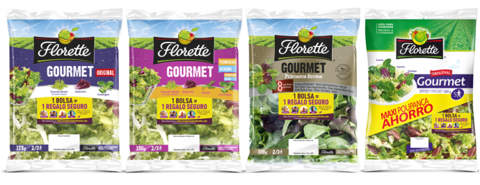 Las ensaladas Florette mejoran la gestión de su producción agrícola