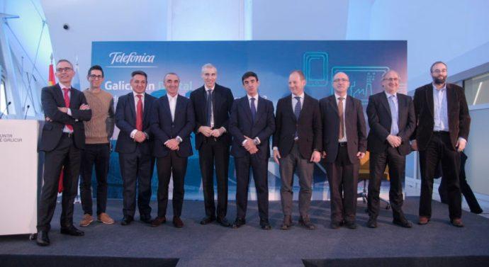 Telefónica inaugura cuarta edición de Galicia Open Future_ en Santiago