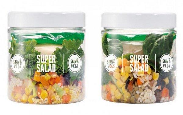 Mercadona lanza las nuevas SuperSalads «Sun&Vegs»